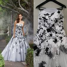 white black lace wedding dress aliexpress com buy photo strapless a line multi tiered