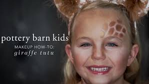 halloween makeup how to giraffe tutu pottery barn kids youtube