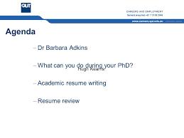Academic Resume Cricos No J Qut Careers And Employment Cricos No J Preparing For