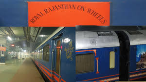 luxury train of india royal rajsthan on wheels departing from