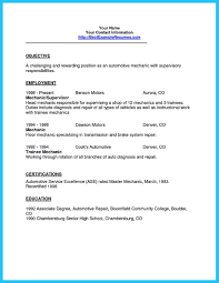 Automotive Resume Template Auto Technician Job Description Cv Auto Tech Automotive