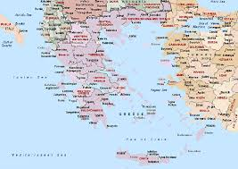 greece map political greece maps map of greece political railway greece outline map