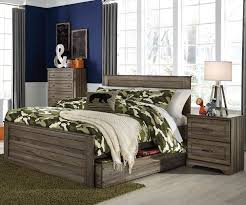Ashley Furniture Kids Bedroom by Javarin Full Size Panel Bed With Trundle B171 Ashley Furniture