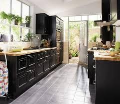 cuisine la peyre cuisine noir en bouleau massif lapeyre