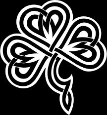 143 vinyl decal irish clover celtic knot u pick color laptop