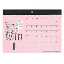 disney desk calendar 2017 2017 winnie the pooh magnetic wall calendar plan disney japan 2017