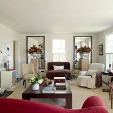 red living room photos hgtv