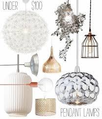 Drum Pendant Lighting Cheap Lighting Design Ideas Lamps1 New Metal Glass Kitchen White Mini