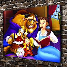 Beauty And The Beast Home Decor Compare Prices On Beauty Beast Pictures Online Shopping Buy Low