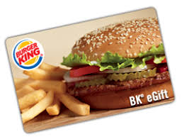 ecard gift card free 5 burger king gift card club freebies