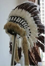 turkey feather headband brown turkey feather indian headdress warbonnet american