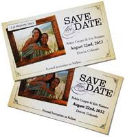 magnetic save the dates magnet printing printed photo fridge and save the date magnets
