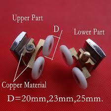 Replacement Shower Door Wheels Shower Door Rollers Runners Rollers Wheels Pulleys 20mm 23mm 25mm