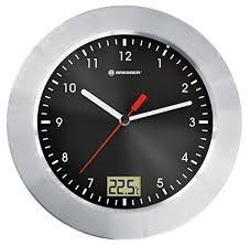 Clock For Bathroom Bathroom Clocks Wall Amazon Co Uk