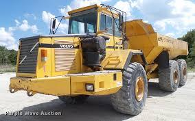 volvo haul trucks for sale 1999 volvo a35c haul truck item da6825 sold september 1
