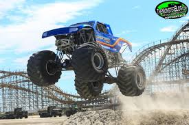 Monsters On The Beach Wildwood Nj Monster Truck Beach Races