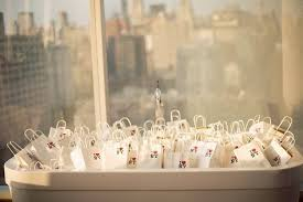 Nyc Wedding Favors by I Nyc Mini Bags Stuffed With Goodies For Your Guests