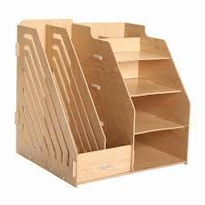 Office Desk Organizers by Combination Multifunctional File Box Wool File Column Desktop