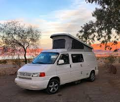 volkswagen vanagon camper rent a volkswagen eurovan campervan rocky mountain campervans