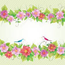 Beautiful Invitation Card Beautiful Floral Invitation Card Bird Illustration Royalty Free