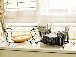 stackable buffet caddy with antiqued black finish plates not