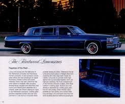 re wtb 1977 to 1984 cadillac factory fleetwood limousine archive