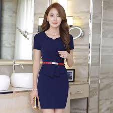 reserved navy blue corporate dress s fashion clothes