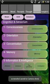 mental status exam template mental status examination ds android apps on google play