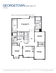 new home floor plans and prices georgetown tartan homes