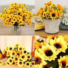 Fake Sunflowers Sunflower Wedding Ebay