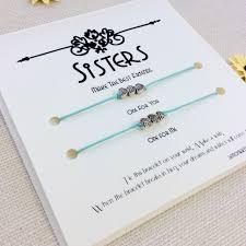 sister gift for sister bracelet sisters christmas gift for