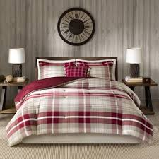 Earth Tone Comforter Sets Woolrich Sheridan Tan Red Oversized Cotton Comforter Set Free