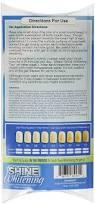 amazon com shine whitening teeth whitening kit bundle with 2 5cc