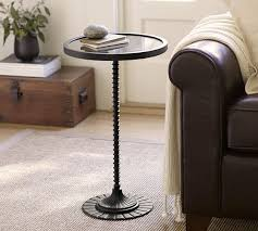 Side Accent Table Merritt Accent Table Pottery Barn 15
