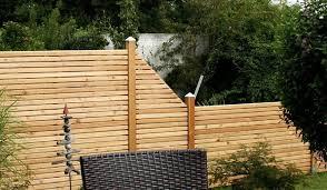 sichtschutzzäune holz sichtschutz günstig mein gartenversand - Holz Sichtschutz