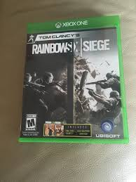 microsoft siege rainbow six siege microsoft xbox one great ntsc usa