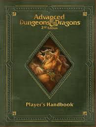 player u0027s handbook revised 2e wizards of the coast ad u0026d 2nd