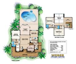 house plan alexandria plans with pools modern home swimming pool