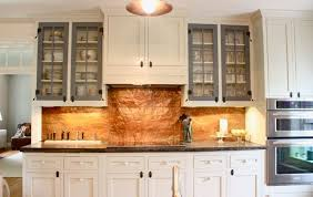 kitchen copper backsplash copper kitchen backsplash captainwalt