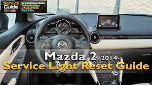 mazda japan models mazda 2 service light reset youtube