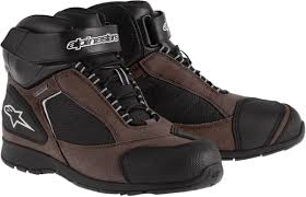 brown motorcycle shoes don u0027t like boots check out these motorcycle shoes dennis kirk