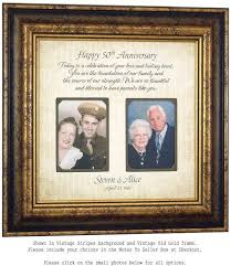50th wedding anniversary gift ideas for parents best 25 personalized picture frames ideas on gifts