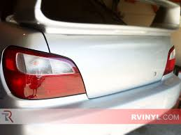 Rtint Subaru Impreza Sedan 2002 2003 Tail Light Tint Film