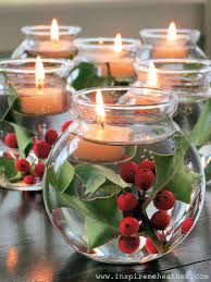interior attractive design christmas centerpiece ideas glass