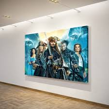 caribbean art promotion shop for promotional caribbean art on 1 pieces pirates of the caribbean wall art canvas pictures for living room bedroom home decor printed canvas paintings