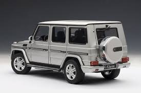 mercedes g wagon amazon com autoart 1 18 mercedes benz g class 2012 silver toys