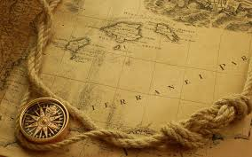 Map With Compass Old World Hd Wallpaper 1142937