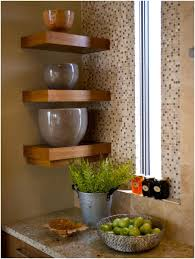 kitchen design magnificent floating kitchen shelves small corner