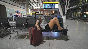 How To Sleep In A Chair Dublin To London Best Way To Sleep In The Airport Youtube