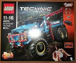 lego technic 2017 lego technic 42070 6x6 all terrain rc tow truck factory sealed
